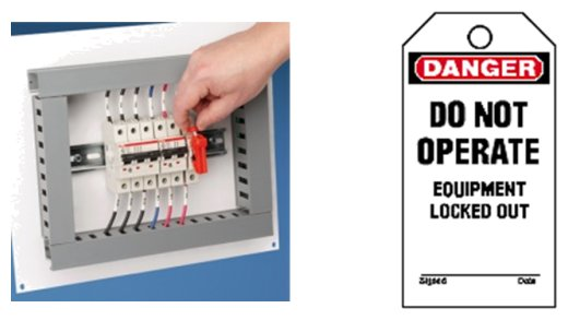 Circuit Breaker Lockout for Lockout Tagout Master Lock Safety
