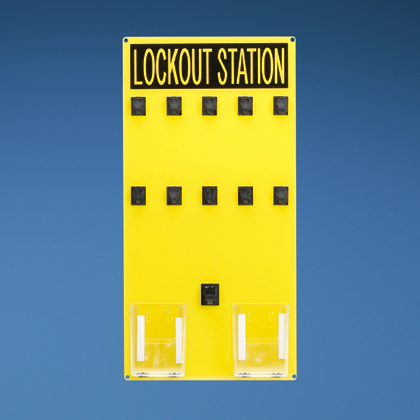 Typical 10-person Lockout Station