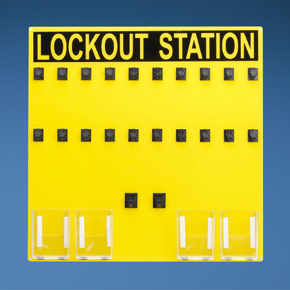 Typical 20-person Lockout Station