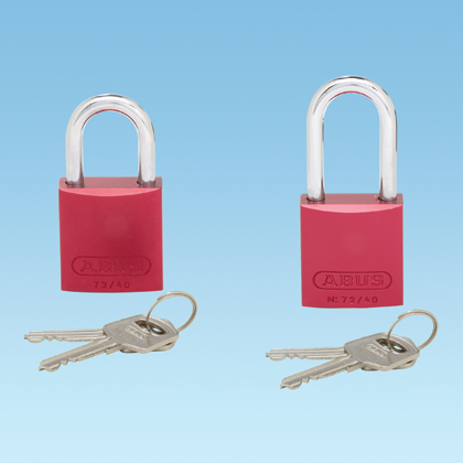 Typical Anodized Aluminum Padlock