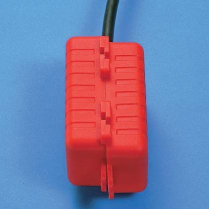 Typical Cord Lockout Device for Small Plugs