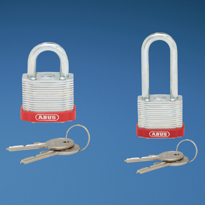 Typical Laminated Steel Padlock