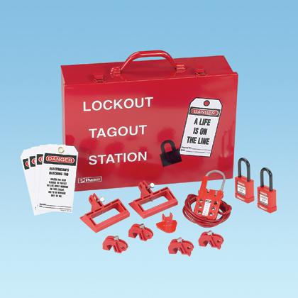 Typical Power and Panel Distribution Lockout Kit