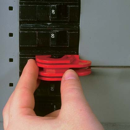 Universal Circuit Breaker Lockout Device - Installation