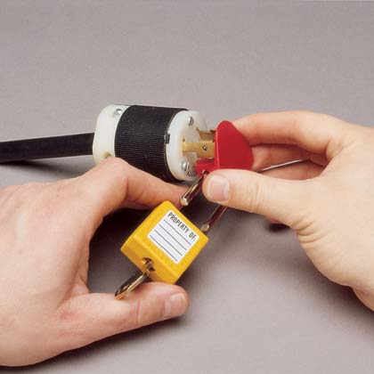 Universal Plug Lockout Device - Installation