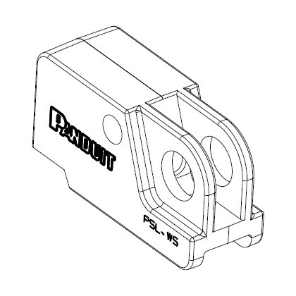 Universal Toggle Switch Lockout Device - 3D CAD View